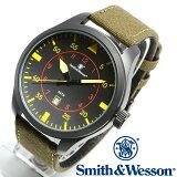[正規品] スミス&ウェッソン Smith & Wesson ミリタリー腕時計 N.A.T.O WATCH BLACK SWW-515-BK [あす楽] [ラッピング無料] [送料無料] [雑誌掲載ブランド]