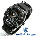 [正規品] スミス&ウェッソン Smith & Wesson ミリタリー腕時計 CAVALRY WATCH BLACK SWW-584-BK [あす楽] [ラッピング無料] [送料無料]