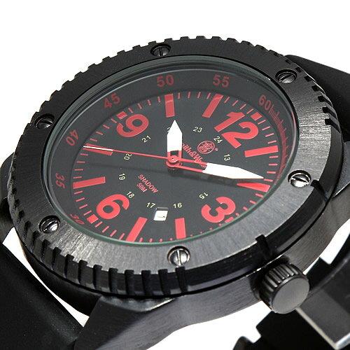 [正規品] スミス&ウェッソン Smith & Wesson ミリタリー腕時計 KNIVES WATCH BLACK/RED SWW-693-BK [あす楽] [] [雑誌掲載ブランド]