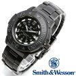 [正規品] スミス&ウェッソン Smith & Wesson スイス トリチウム ミリタリー腕時計 SWISS TRITIUM DIVER WATCH BLACK/BLACK SWW-900-BLK [あす楽] [ラッピング無料] [送料無料]