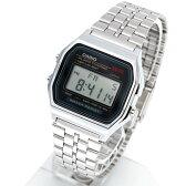 カシオ 腕時計 メンズ スタンダード デジタル CASIO STANDARD DIGITAL A159WA-N1 チープカシオ チプカシ シルバー 【メール便で送料無料】