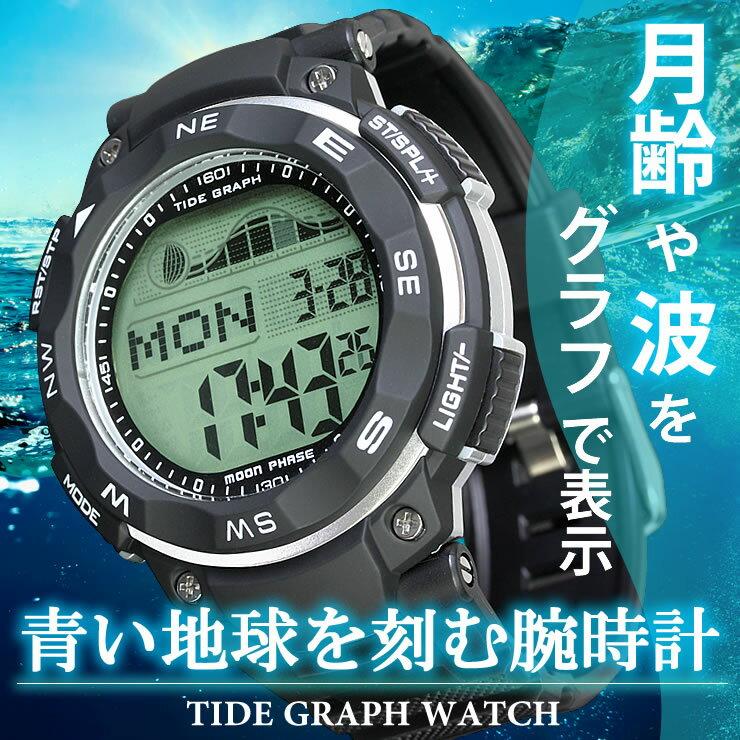 (LAD WEATHER)腕時計 タイドグラフ ムーンフェイズ