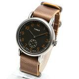 TIMEX タイメックス 腕時計 TW2P86800 WEEKENDER VINTAGE / ウィークエンダー ヴィンテージ ミリタリーウォッチ メンズ レディース 時計 アナログ ミリタリー カジュアル ブラウン ブラック