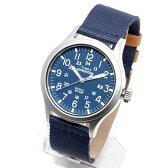 TIMEX タイメックス 腕時計 TW4B07000 EXPEDITION SCOUT METAL / エクスペディション スカウト メタル ミリタリーウォッチ メンズ レディース 時計 アナログ カジュアル ミリタリー ネイビー ナイロン レザー 革ベルト