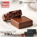 バニラビーンズ パリトロ8個入 チョコレート ギフト プチチョコレートケーキ 詰め合わせ 【お歳暮】 【あす楽】【VB】