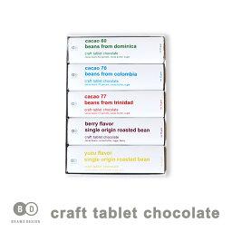 BEAMS DESIGN ビームス デザイン タブレットチョコレート 5枚入