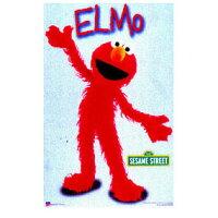 セサミストリート/エルモキャラクターポスター《SESAMISTREET/ELMO》USサイズ