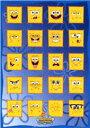 スポンジボブキャラクターポスター《SPONGE BOB》メニーフェイス 通販 楽天 販売  プレゼン ...