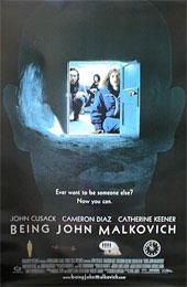 マルコビッチの穴映画ポスター【BEING JOHN MALKOVICH】 Lサイズ 通販 楽天 販売  プレゼント