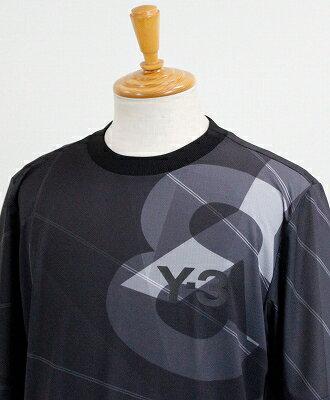 Y-3(ワイスリー) フットボール Tシャツ AOP FOOTBALL SHIRT [DY7220-APPS19] BLACK