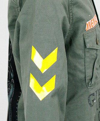 ONE MADE by maxsix(マックスシックス) ミリタリーシャツ Military Shirt MONROE [ONE-289] GREEN