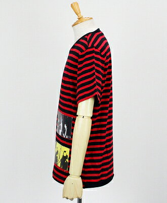DEPARTMENT5(デパートメントファイブ) ボーダー Tシャツ [U18JF11-J180] RED(844)