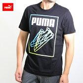 送料無料 プーマ PUMA メンズ 半袖tシャツ(592721)コットン100% 半袖丸首tシャツ