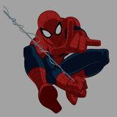 スパイダーマン コットンストレッチ前とじメンズボクサーパンツ(MARVEL COMICS Spider-Man)キャラクター グッズ