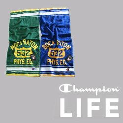 チャンピオンスポーツタオル(80×34cm)綿100%(Champion)2F物流
