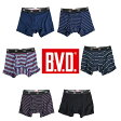 B.V.D.吸汗速乾 メンズ ボクサーパンツ 色柄おまかせ福袋6枚セット 前開きbvd メンズ