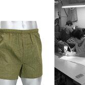 【技・純日本製トランクス】夏専用の極薄サラっとスースー男性用下着 メンズトランクス