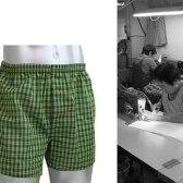 【技・純日本製トランクス】夏専用の極薄サラっとスースー男性用下着メンズトランクス