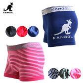 送料無料(KANGOL)カンゴールボクサーパンツ メンズ前とじ