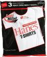 Hanes ヘインズ 赤ラベル 3P−パック クルーネックTシャツ(ヘインズtシャツ) 赤パック RED PACK レッドパック 白 3枚組み