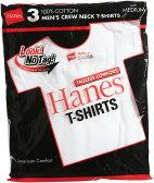Hanes ヘインズ 赤ラベル 3P−パック クルーネックTシャツ(ヘインズtシャツ) 赤パック RED PACK レッドパック 白3枚組み