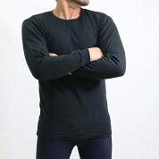 FTYのび楽フィット長袖丸首tシャツ/秋冬/12-690/メンズ肌着/あったか