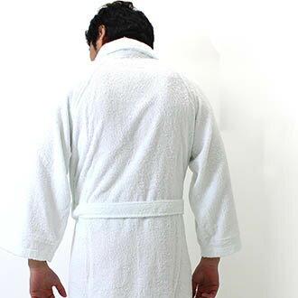 バスローブ綿100%ガウンタオル生地メンズレディースユニセックスパジャマルームウエア男女兼用お風呂上りにルームウエア部屋着