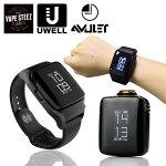 UWELLAmuletPodKit370mAhスマートウォッチ型vapeユーウェルアミュレットポッド時計型吸うだけ通電電子タバコスターターキット