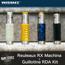 【 電子タバコ VAPE 】【 Wismec 】【 Reuleaux RX Machina 】【 Guillotine RDA 】スターターキット 【 メカニカルMOD 】
