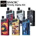 SMOK Trinity Alpha Kit 1000mAh 送料無料 手のひらサイズ POD ポッド 電子タバコ 電子たばこ 電子煙草 禁煙グッズ 禁煙 ベイプ vape リキッド 本体 タール ニコチン0 おすすめ