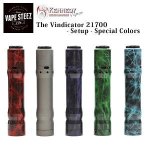 電子タバコ スターターキット Kennedy The Vindicator 21700 - setup - Spesial Colors 【 メカニカル 】【 VAPE 】