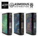 電子タバコ VAPE 正規 asMODus × ULTRONER EOS 2 ( イオス2 ) イー・オー・エス 2 BOX MOD スタビウッド アズモダス StabWood【 送料無料 】