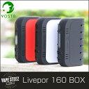YOSTA Livepor 160W BOX MOD DRY COIL保護機能付き 18650バッテリー2本使用