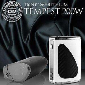 【送料無料】CouncilofVaporTempest200WTCVWMODバッテリーVAPE電子タバコ