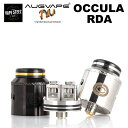 occula rda 1 - 【レビュー】AUGVAPEから新しいアトマイザーOCCULA RDAが登場! シングルコイル・デュアルコイルのどちらにも対応するエアフローシステム採用! これも爆煙向けかな?