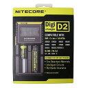 NITECORE D2 全自動デジタル/マルチ充電器 Dig