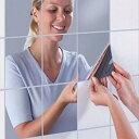 ミラー ウォールステッカー 9枚セット 割れない 壁 貼る ウォールミラー 壁貼り 鏡 シール シート[定形...