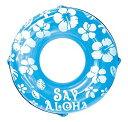 ドウシシャ 浮き輪 SayAloha ブルー 120cm[送...