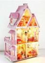 塗装から組み立てまで手作りしよう 木製ミニチュアドールハウス 組み立て 家 ホーム 部屋[送料無料(一部地域を除く)]