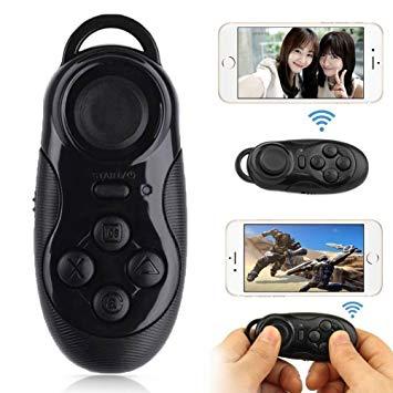 Bluetooth ワイヤレス マルチ リモコン スマホ タブレット コントローラー ゲーム VR 自撮り[定形外郵便、送料無料、代引不可]