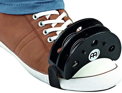 MEINL Percussion マイネル フットパーカッション Foot Tambourine FJS2S-BK[メール便発送、送料無料、代引不可][楽器]【YDKG-kd】【smtb-KD】