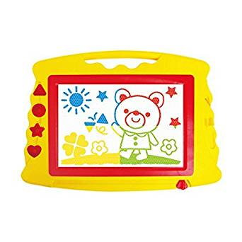 何度でも描ける お絵かきボードマグネットペン付き「カラフル」お絵かきボードL クリスマス  子供  玩具  (一部地域を除く)