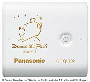 Panasonic/パナソニックモバイルバッテリー5,800mAhDisneySpecialEdition-PoohホワイトQE-QL202PH-W[メール便発送、送料無料、代引不可][スマホ]【YDKG-kd】【smtb-KD】