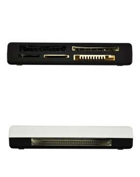 6in1 メモリーカードリーダー micro SD MMC SDHC CF メモリースティック XDピクチャーカード メモリーカード 読み書き[メール便発送、送料無料、代引不可]【YDKG-kd】【smtb-KD】[カードリーダー]