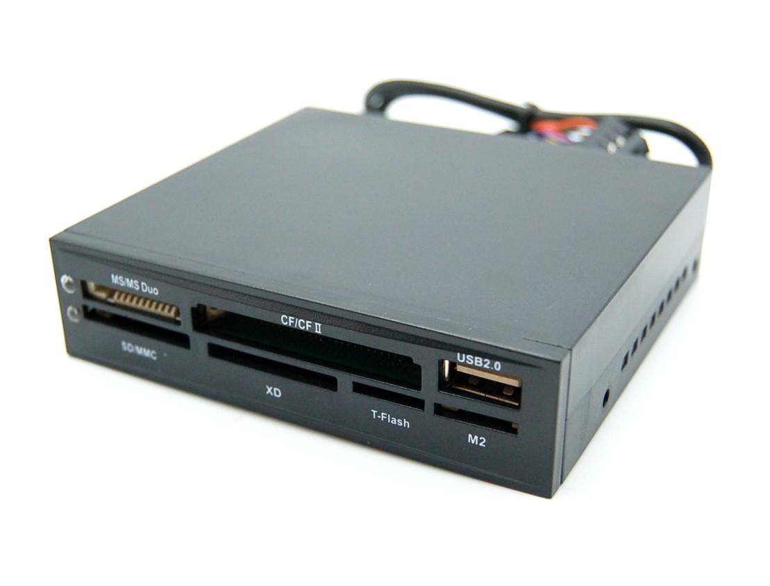 内蔵ドライブ・ストレージ, 内蔵メモリカードリーダー  3.5 USB2.0 MS CF SD MMC XD T-Flash M2