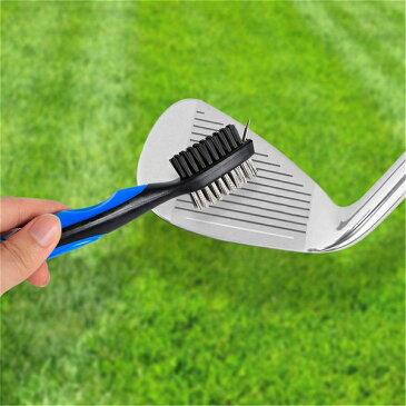 ゴルフクラブ ブラシ 《ブルー》 溝 掃除 クリーナー ゴルフ ウェッジ アイアン【smtb-KD】[ゴルフ][定形外郵便、送料無料、代引不可]