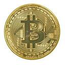イミテーション ビットコイン 金貨 ゴールド bitcoin風 硬貨【smtb-KD】[面白][定形外郵便、送料無料、...