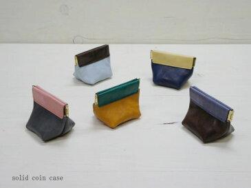 コインケース VARCO ソリッドコインケース 革 日本製 レザー レディース メンズ 小銭入れ 小銭 革製 ヌメ革 コイン 収納 ケース