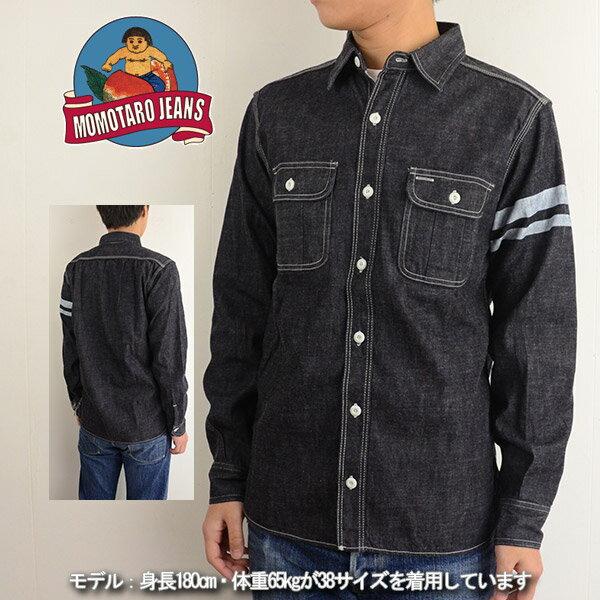 トップス, カジュアルシャツ  MOMOTARO JEANS SJ091D 40