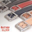 【送料無料】ベルト メンズ 本革 日本製BLTOM ブルトム B-1201[rr]国産 姫路レザー ジーンズとの相性抜群!デニム素材にマッチした6色…